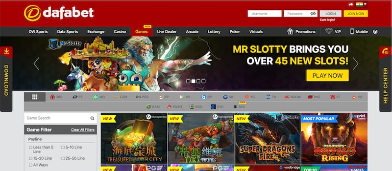 DafaBet Website