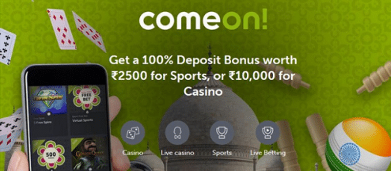 How to deposit in ComeOn