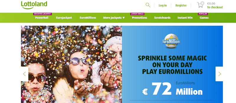 Lottoland website