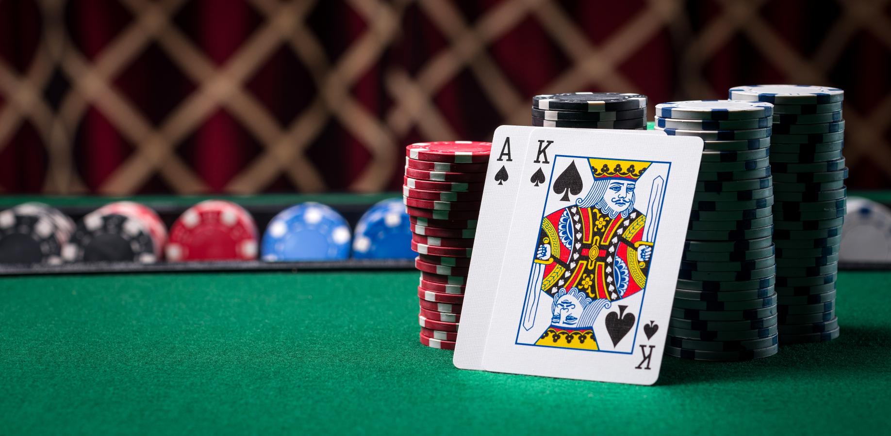 texas hold'em card game