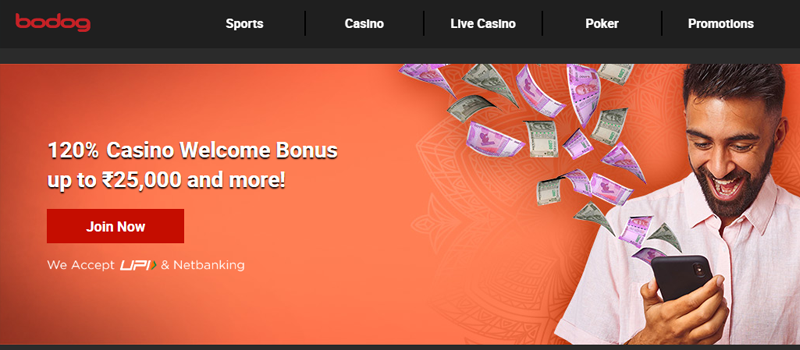 bodog welcome bonus